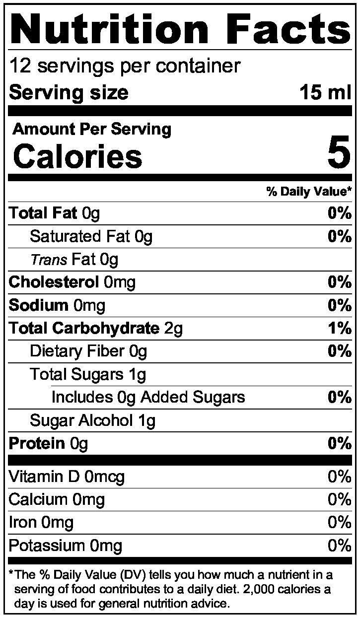 NutritionLabel 190 ml 20181221